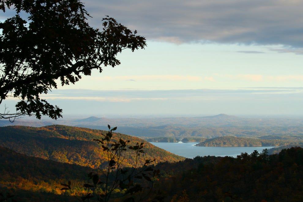 Lake Jocassee near Salem, SC