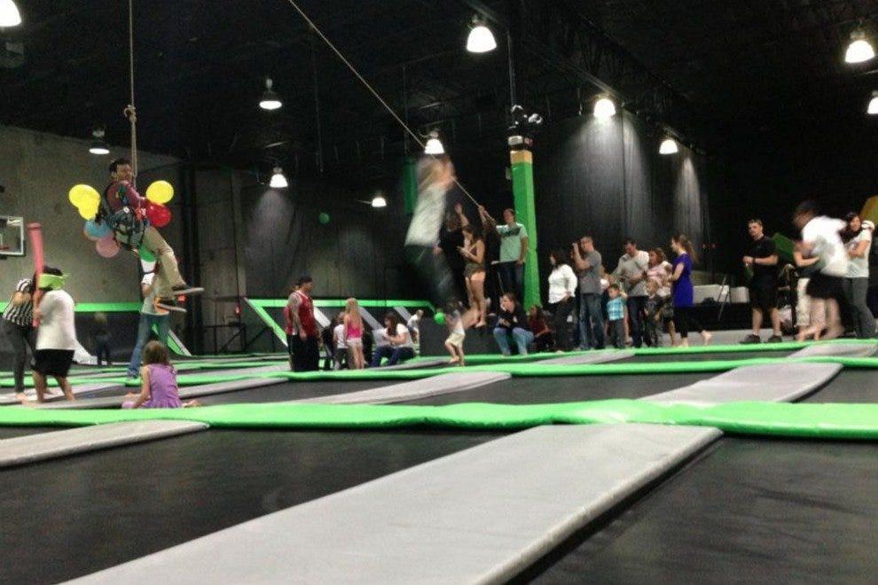 Trampoline fun at GravityPark