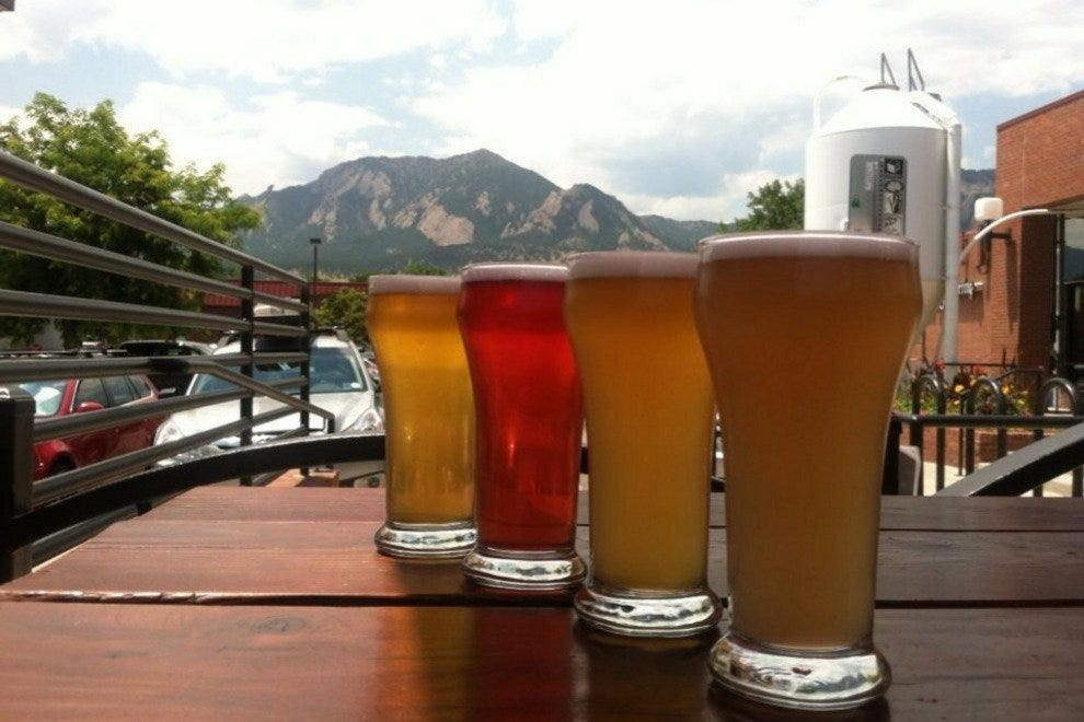 Brews and views at Southern Sun Brewery in South Boulder