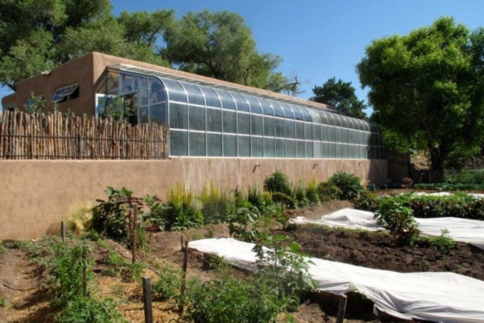 Vinaigrette's farm and greenhouse