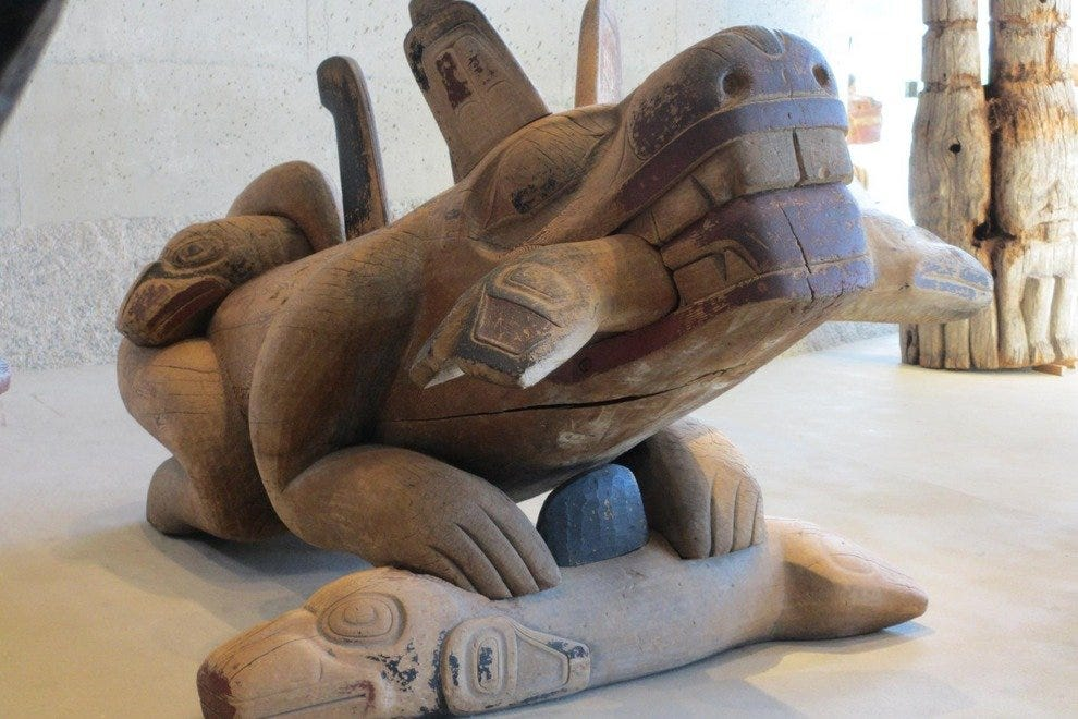 Bill Reid's carvings are at MOA