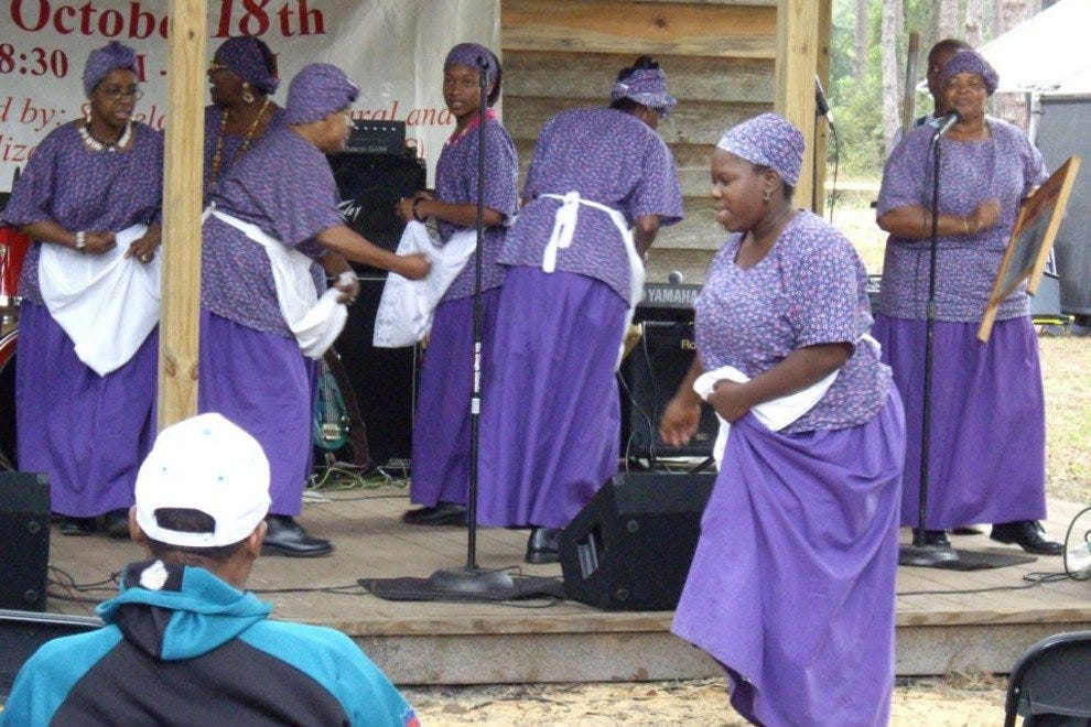 Each year, Sapelo Island residents and the public celebrate Gullah culture during the Cultural Day Festival.