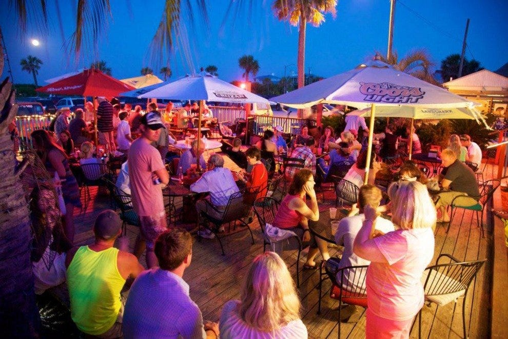 The North Beach Bar & Grill is the perfect place to cap off a day at Tybee.