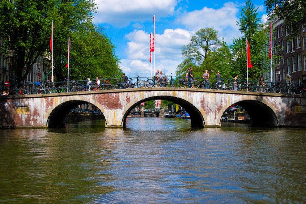 Amsterdam en été
