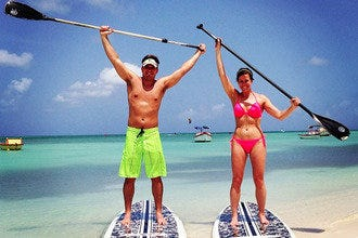 Stand Up Paddle Aruba