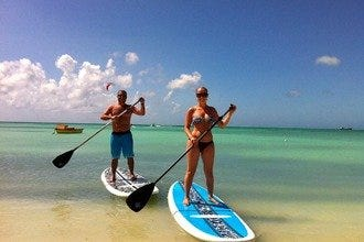 Learn How To SUP With Stand Up Paddle Aruba