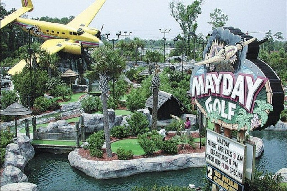 Miniature Golf Attractions In Myrtle Beach