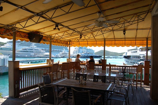 Restaurant Slideshow Restaurants Near Cruise Port St Thomas
