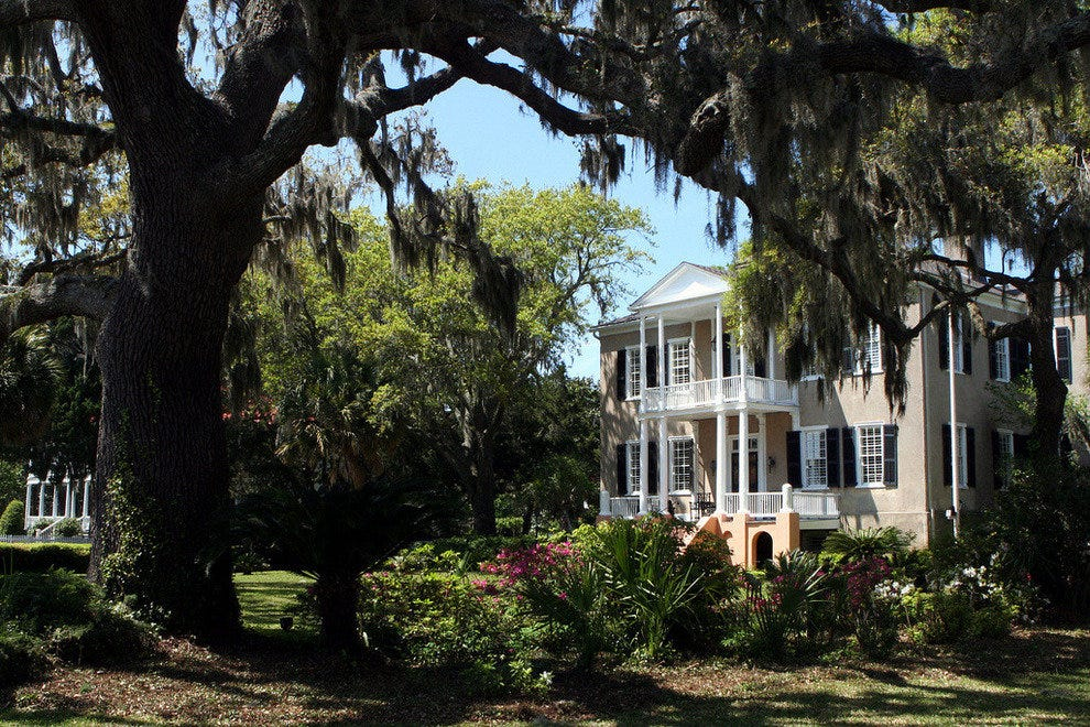 Antebellum home in Beaufort
