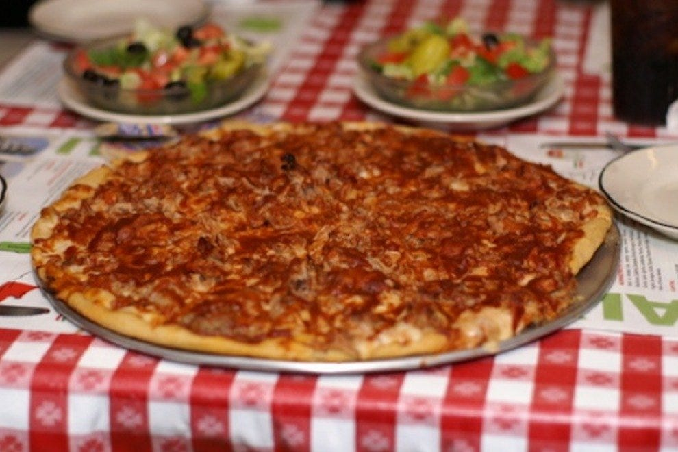 Coletta's barbecue pizza was a favorite of Elvis Presley, and it's still on the menu today