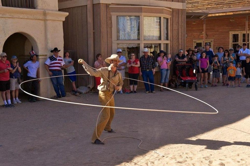 Teens will have fun getting caught up in the spirit of the Wild West at Old Tucson Studios