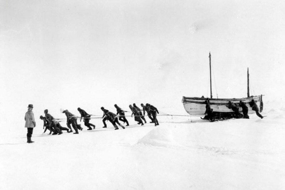 Shackleton's Endurance Exhibition in Dun Laoghaire