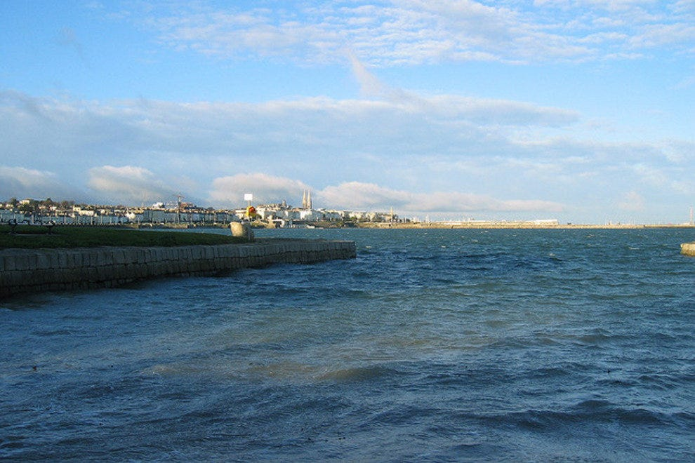 The waters of Dublin Bay