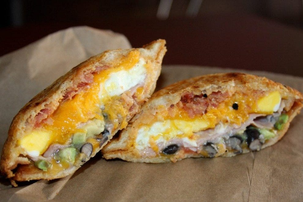 Unique breakfast sandwich creations are on the menu at Zookz Sandwiches in Phoenix