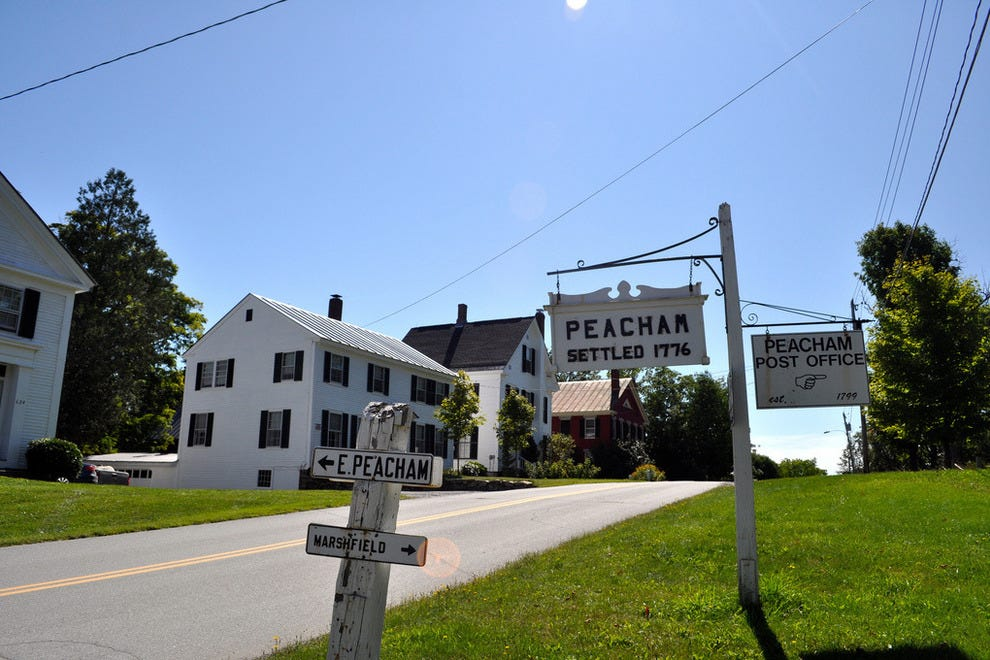 Peacham, settled in 1776