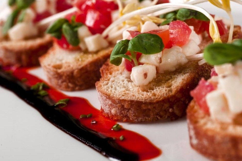 Bruschetta Cala Bella, one Magical Dining option at the Rosen Shingle Creek Resort