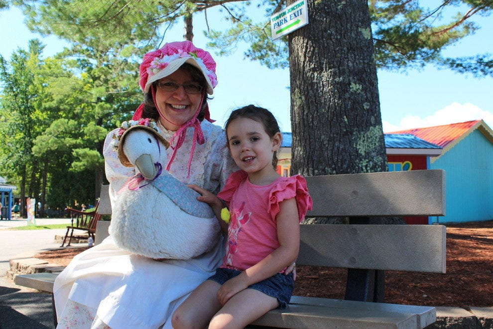 Meeting the REAL Mother Goose