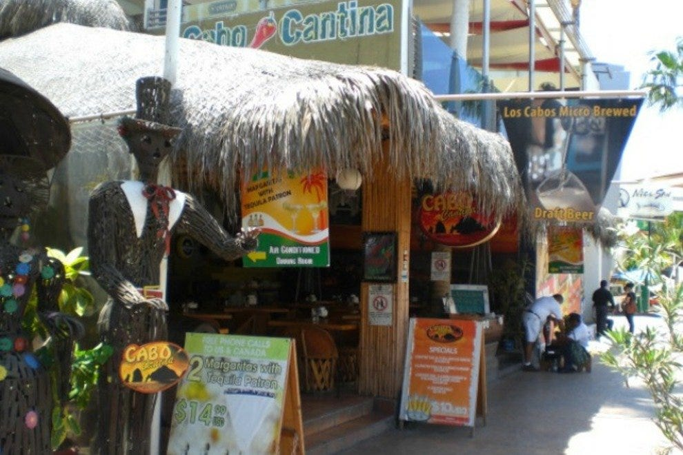 Cabo Cantina is one of the best sports bars in Los Cabos.