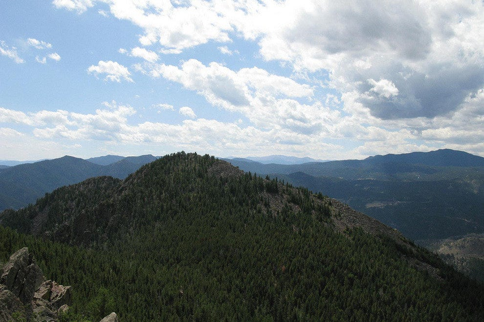 Bear Peak in Boulder, Colorado