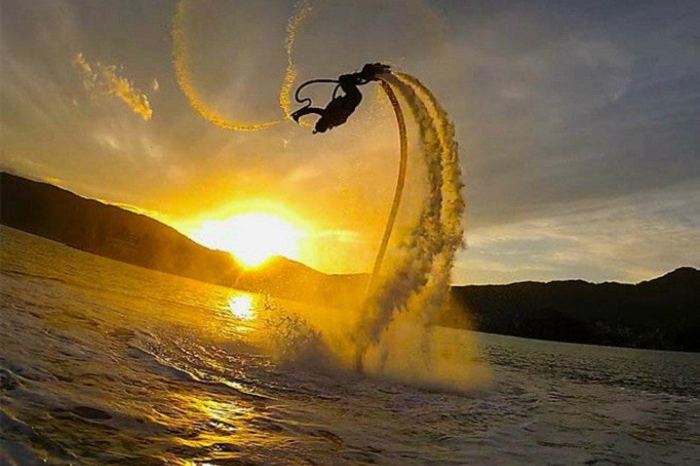 Flyboarding is Cabo's coolest new water sport.