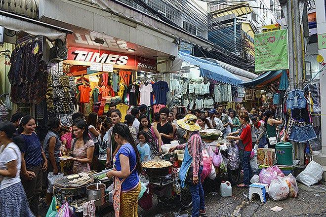 Downtown Shopping in Bangkok