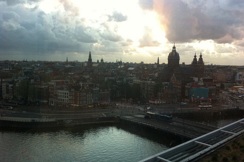 Sky Lounge, DoubleTree by Hilton Amsterdam Centraal Station