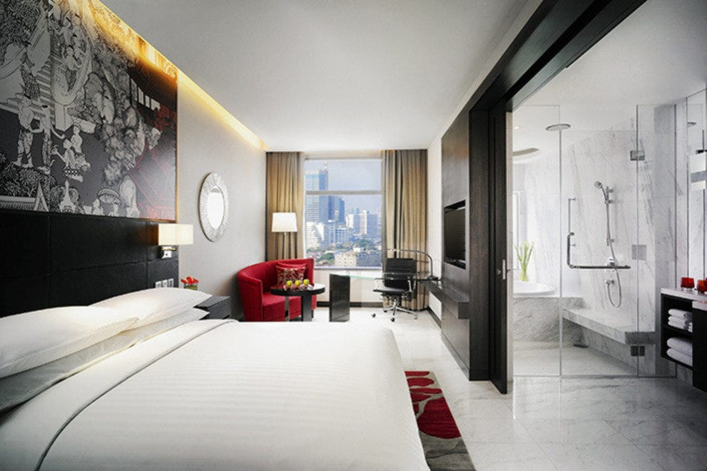 Stylish stays at the Marriott Sukhumvit Bangkok