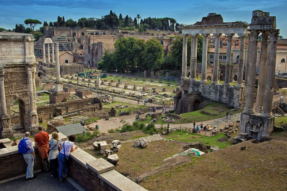 One day of sightseeing in rome civitavecchia shore excursion tours itineraries article by - Tour rome from civitavecchia port ...