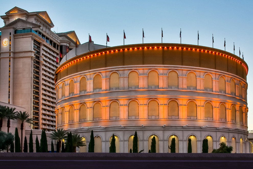 The Colosseum at Caesars Palace