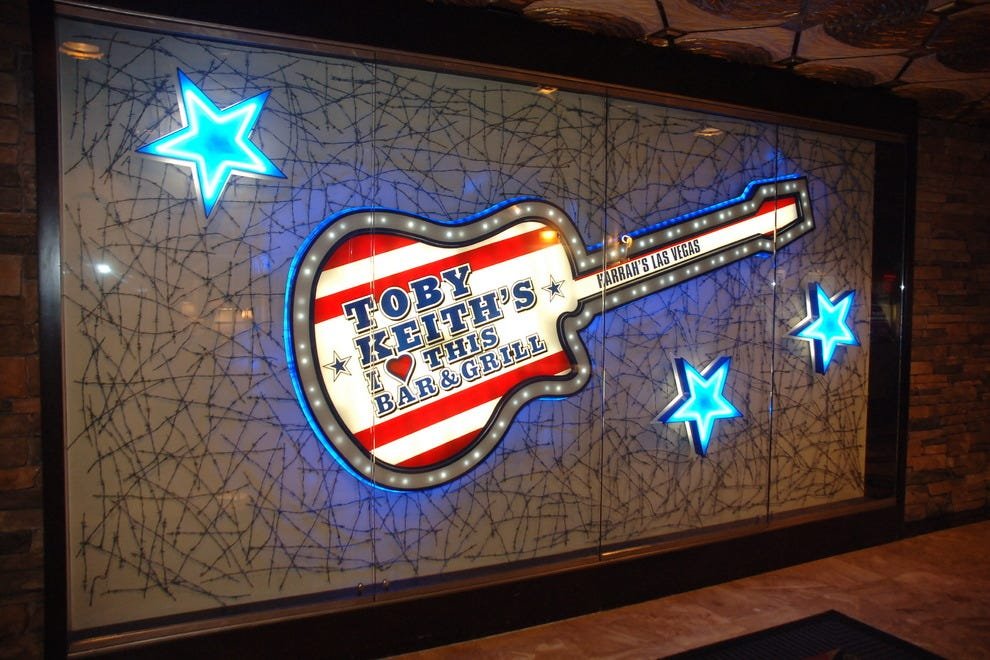 Toby keith bar las vegas coupons