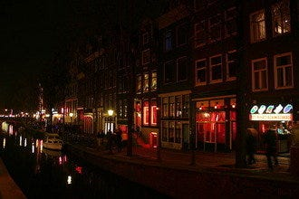 A Look At Amsterdam's Infamous Red Light District