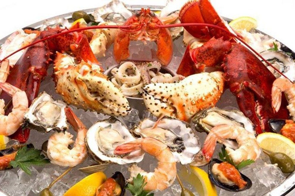 Red the steakhouse miami restaurants review 10best for Garcia s seafood grille fish market miami fl