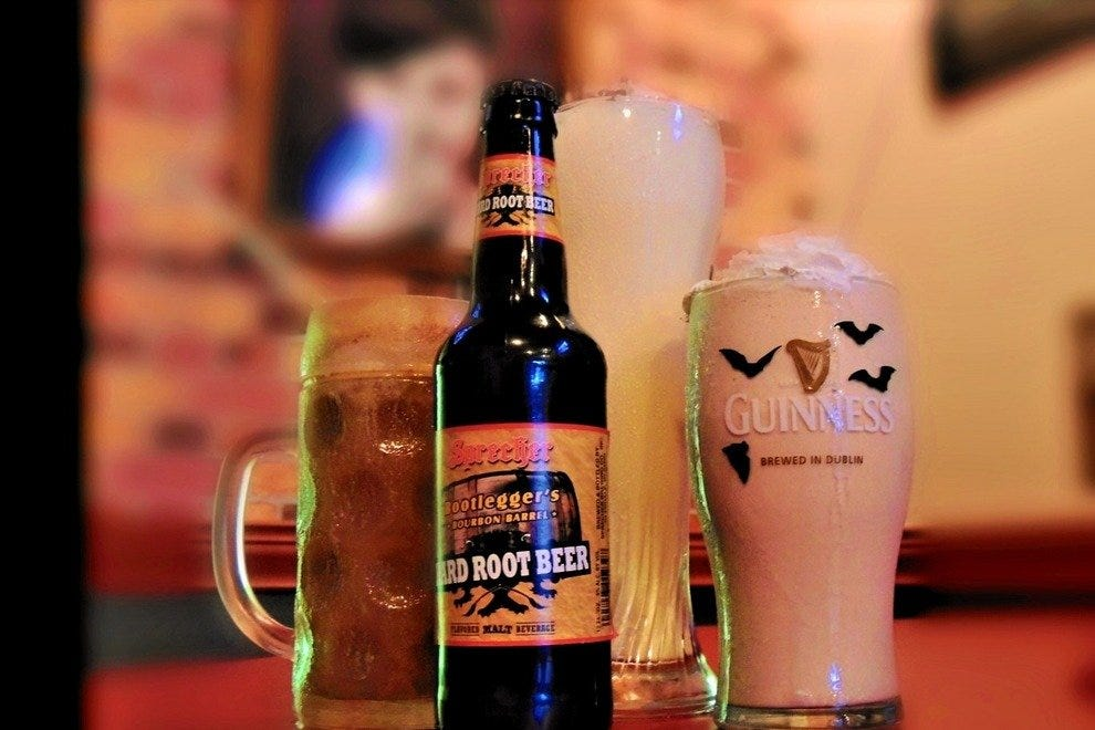 Beer milkshakes at M.E.A.T. Eatery and Taproom