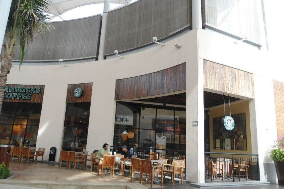 Las Plazas Outlet is home to many things, including a Starbucks