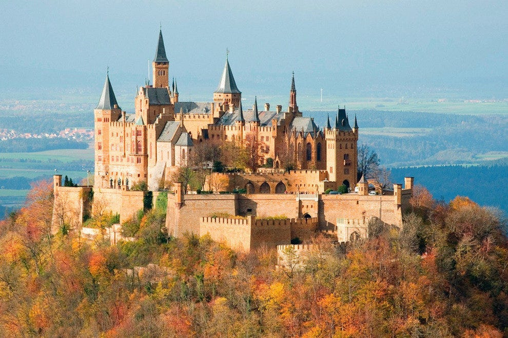 A Home with 140 Rooms: Hohenzollern Castle
