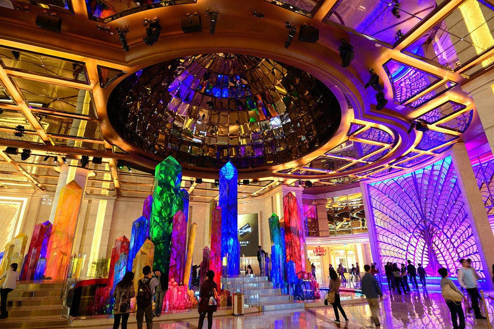 Inside the Galaxy Macau