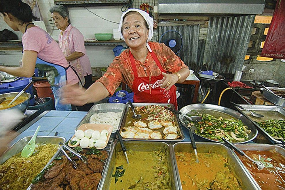 Street food restaurants in bangkok for P kitchen restaurant bangkok
