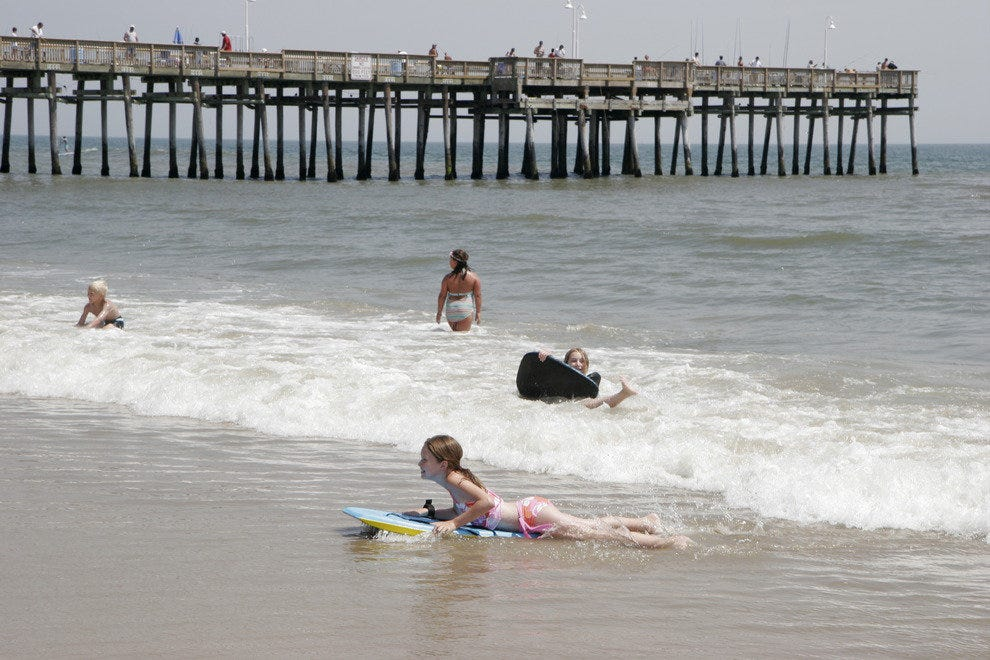 Sun, surf and fishing is just some of what Virginia's coast has to offer.