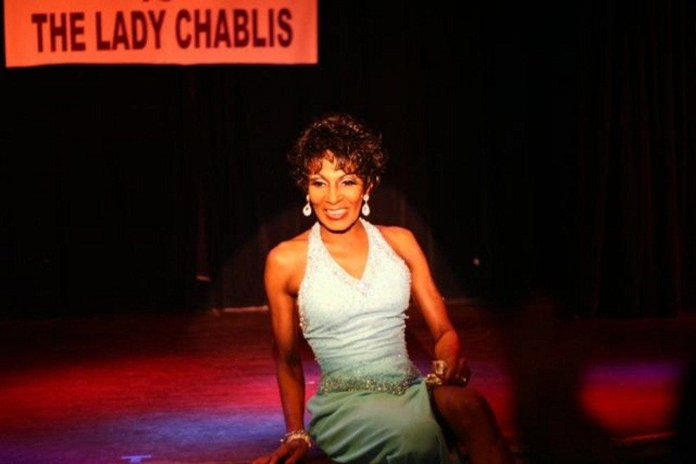 The Lady Chablis takes the stage at Club One once a month