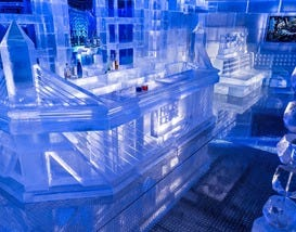 "Hang With the ""Cool"" Crowd at Frost Ice Bar"
