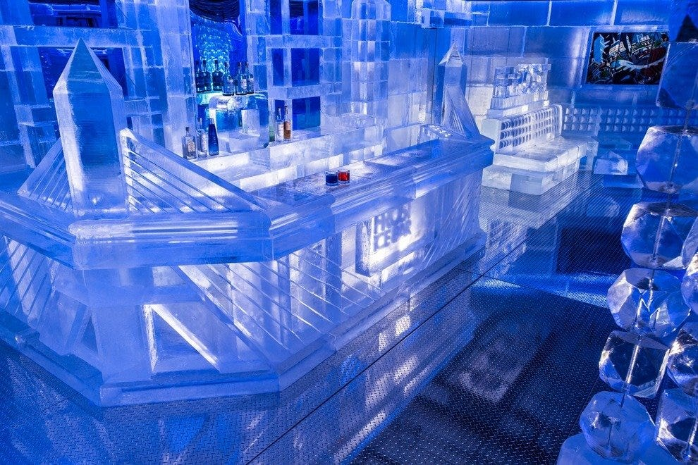 The Ice Bar at Frost