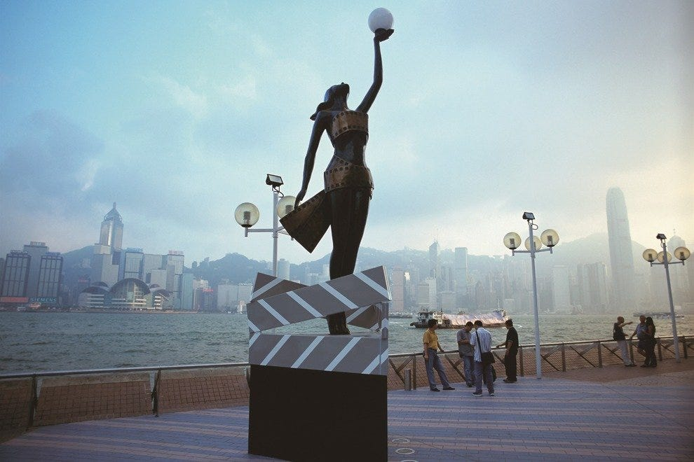 Avenue of Stars is one of the most popular attractions in Hong Kong