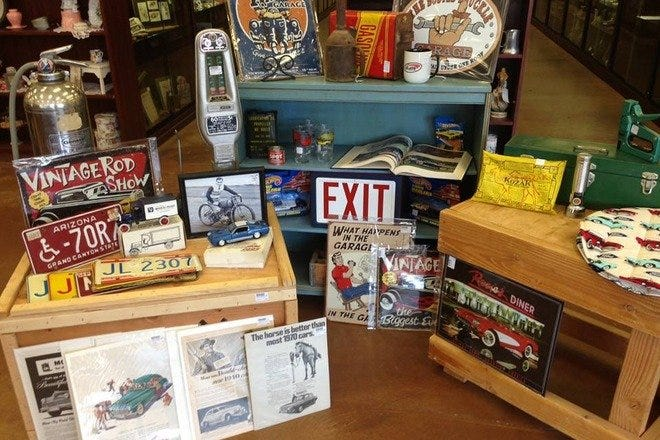 A Mad Hatter's Antiques & Collectibles