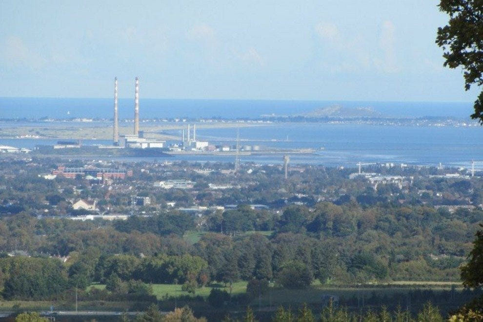 Stunning view of Dublin Bay while on a Trails and Tales walk