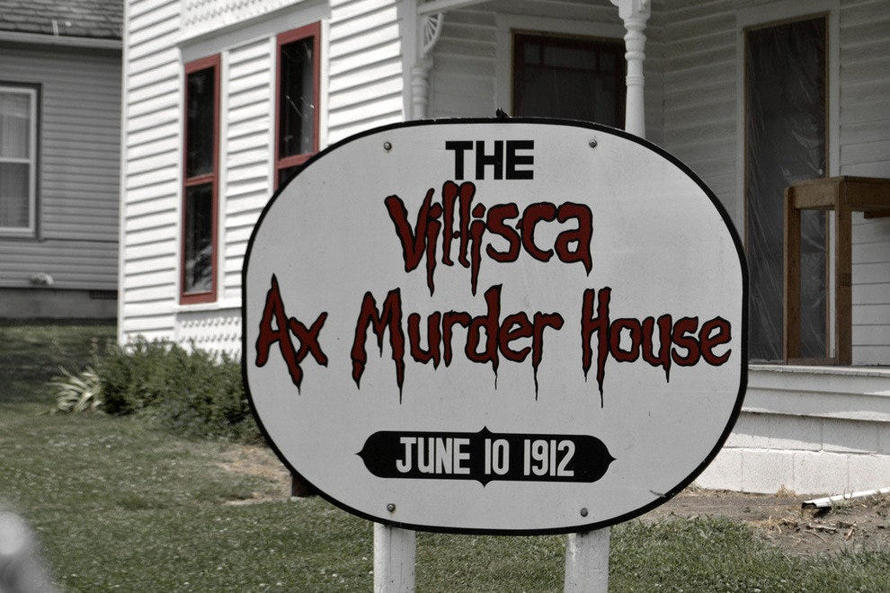 The Villisca Ax-Murder House in Iowa