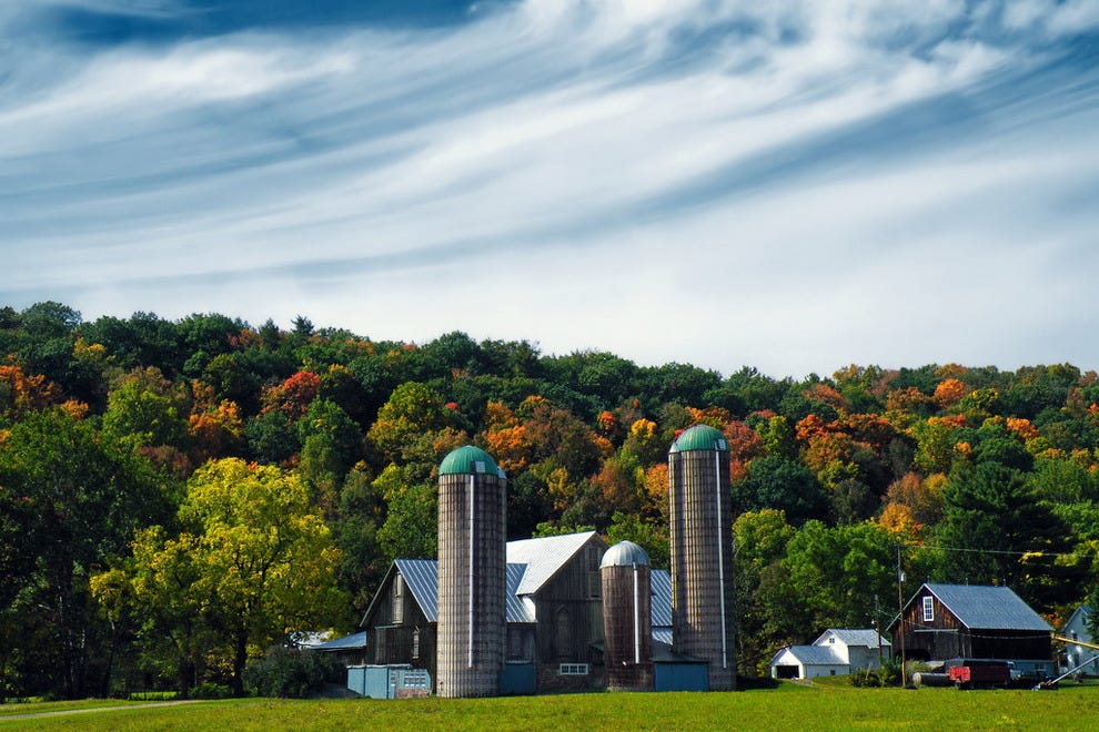 Farmstead, Muncy Valley, Sullivan County