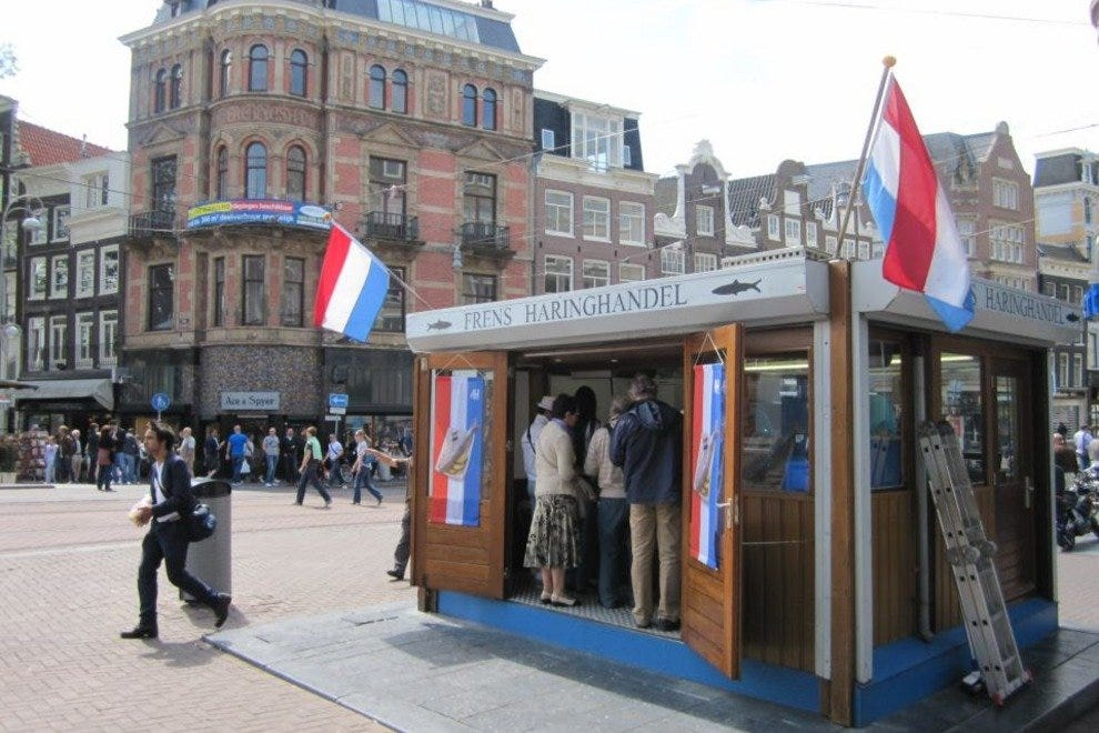 Street Food: Restaurants in Amsterdam