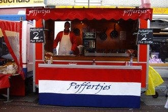 Poffertjes Stand at the Albert Cuypmarkt