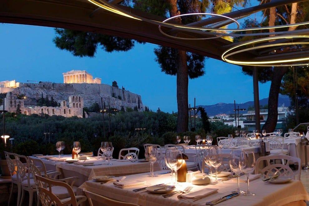 Athens Outdoor Dining Restaurants 10best Restaurant Reviews