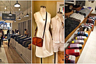 Women's Clothes Company Madewell Opens at Westfield UTC Shopping Mall